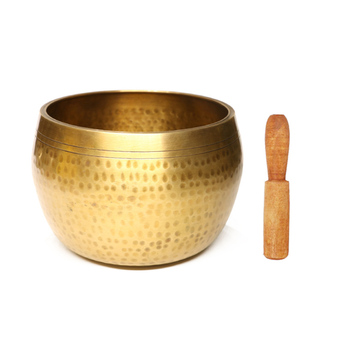 Singing Bowl Hand-Crafted Tibetan Copper Buddha Meditation Healing Relaxation Therapy Musical Instrument Christmas gift hot sale