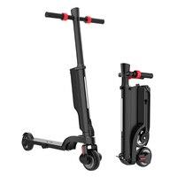 Dobrável adulto pontapé scooter elétrico 250 w bateria removeable e scooter ajustável altura suporta 220lbs ce/certificação rohs|Scooters elétricos| |  -