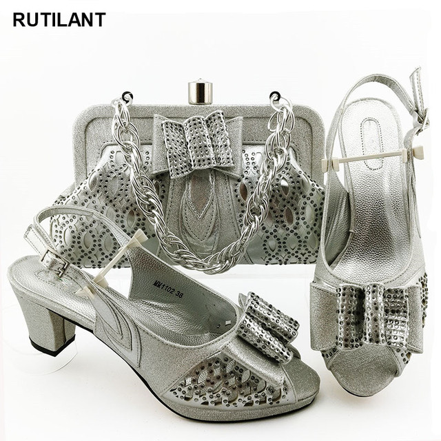 הגעה חדשה נעליים איטלקיות עם שקיות התאמה באיכות גבוהה מעצב נעלי נשים יוקרה 2020 ניגרי נעליים סטי שקית