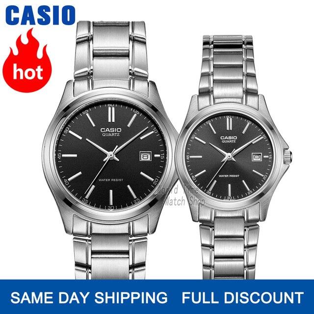 Hommes de Casio montre que couple montre réglée dames de luxe de marque horloge Quartz poignet montre Sport hommes femmes Etanche montres lumineuses paire Design modèle relogio feminino masculino reloj hombre mujer
