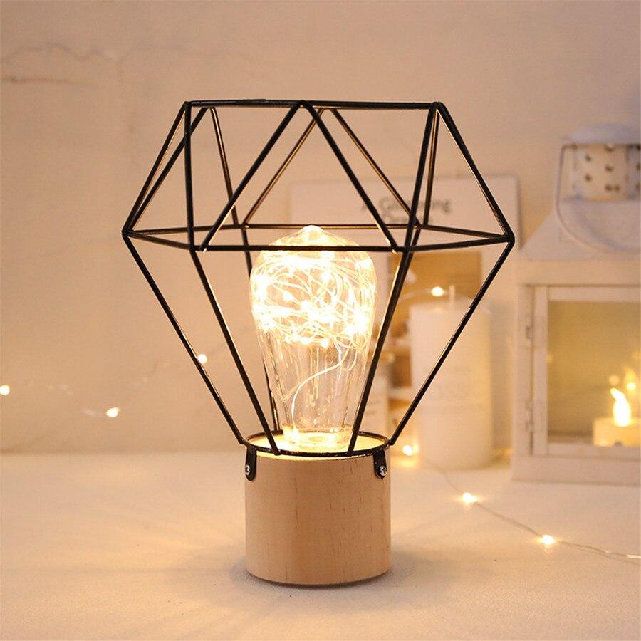 thrisdar ins nordic minimalista cobre lampadas led 02