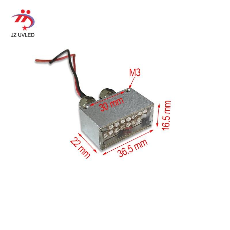 Smal polimerizzazione dell'inchiostro UV lampade per Epson R1390 L1800 L1300 Modifica FAI DA TE A3 UV flatbed stampante DX5 testa la cura raggi ultravioletti luci