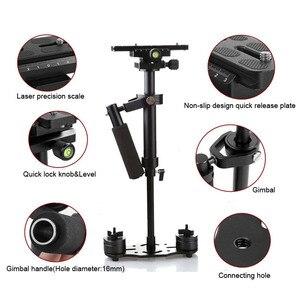 Image 3 - S40 Steadicam 40cm Mini Steadycam Pro ręczny stabilizator wideo do kamery aparat cyfrowy wideo Canon Nikon Sony DSLR