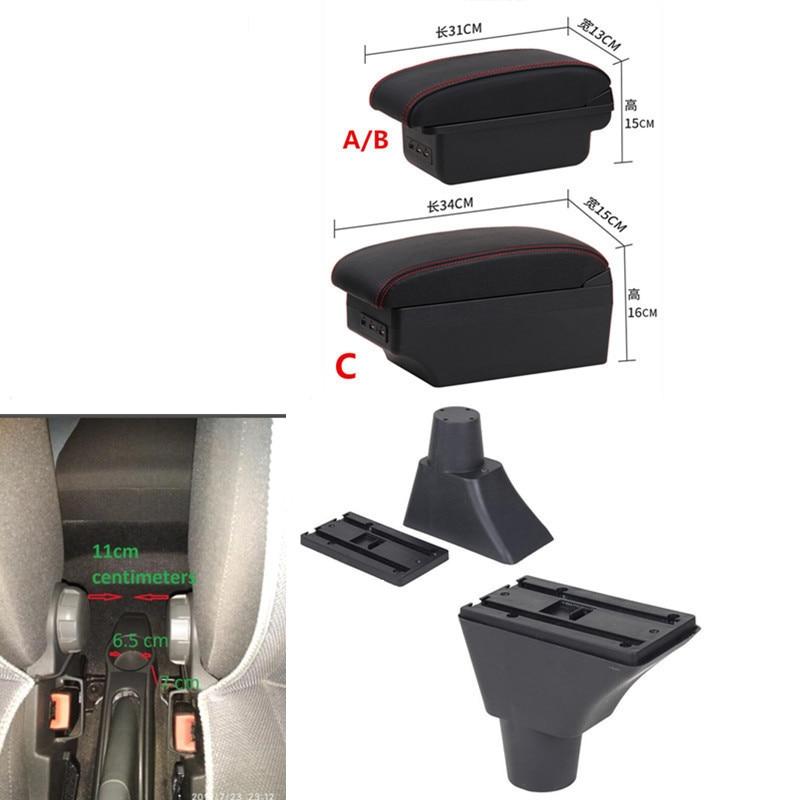 For Fiat Panda Armrest Box Usb Armrests Aliexpress