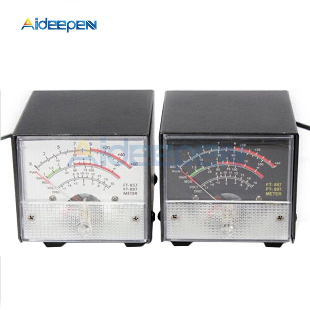 Medidor S externo/SWR/medidor de potencia Pantalla de onda de pie FT-857 FT-897 857 897