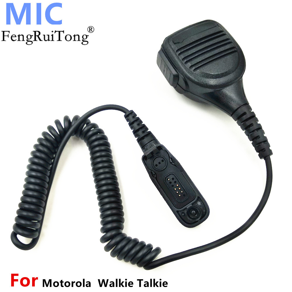 Microphone Speaker Mic For Motorola Xir P8268 P8260 P8200 P8660 GP328D DP4400 DP4401 DP4800 DP4801 Walkie Talkie Two Way Radio