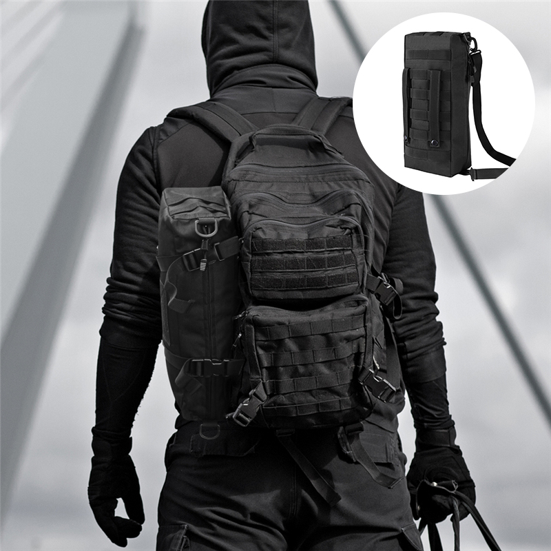 Tactical Molle Pouch Large Capacity Backpack Increment Pouch Short Trips Attack Bag Foldable Portable Shoulder Bag