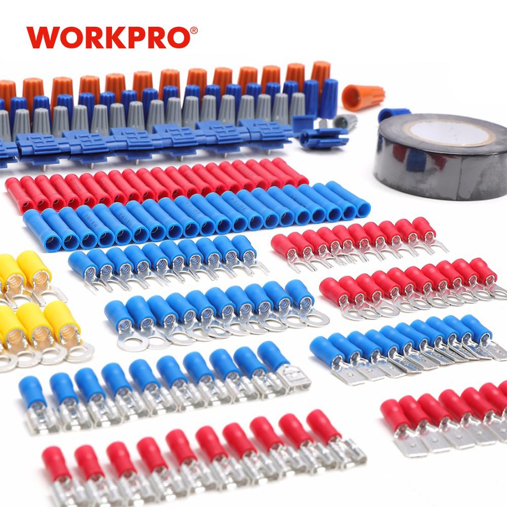WORKPRO 582PC Tool Set for Electrician Network Tool Kits Fiber Optic Tools Home Tool Set