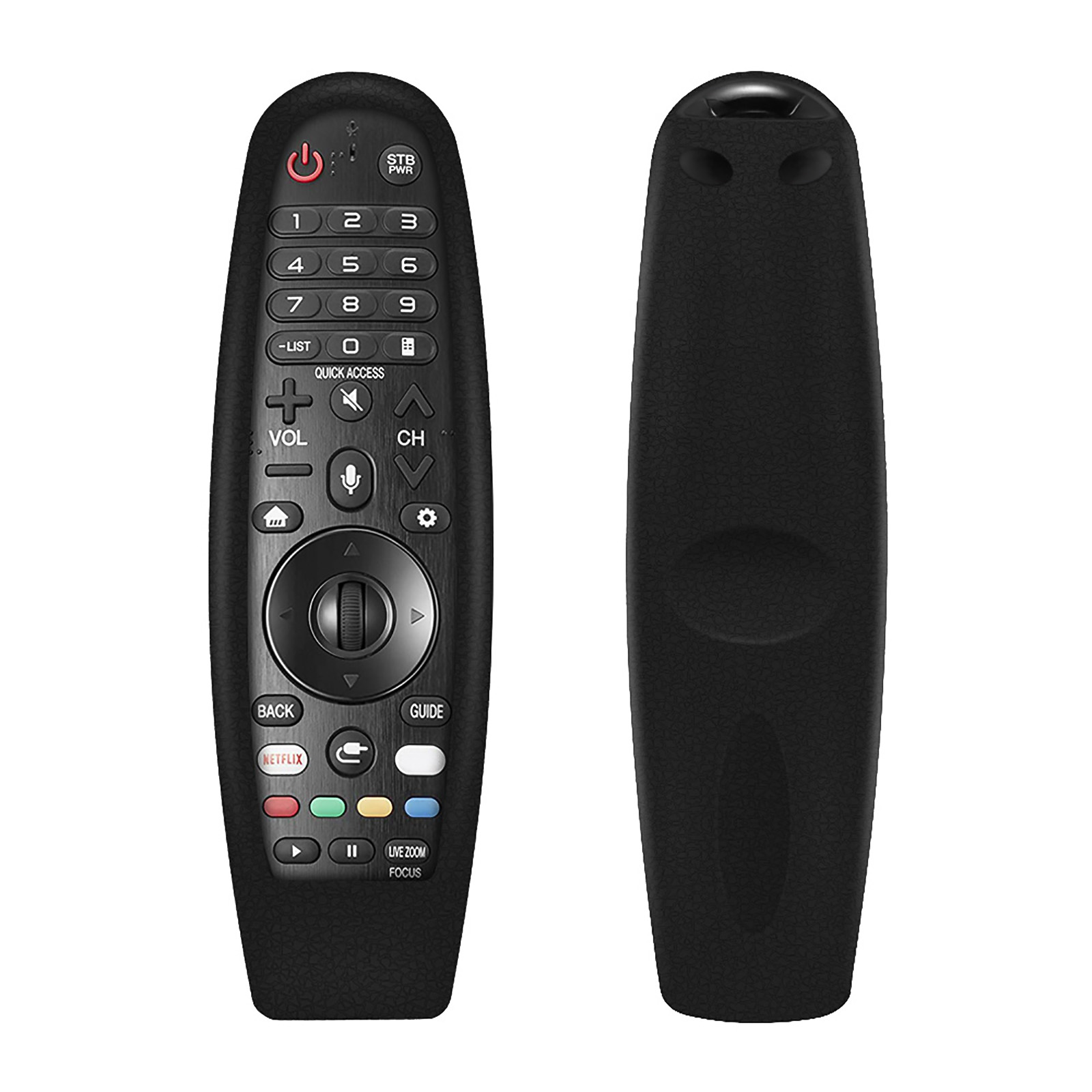 Защитный силиконовый чехол для LG ТВ AN-MR600 650 AN-MR18BA MR19BA Magic Remote Управление Противоударная защитная задняя крышка из моющиеся дистанционного ...