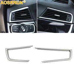 chromium styling Air conditioning outlet Cover For BMW 5 series F10 F18 2011 2012 2013 2014 2018 2015 2016 Car Accessories