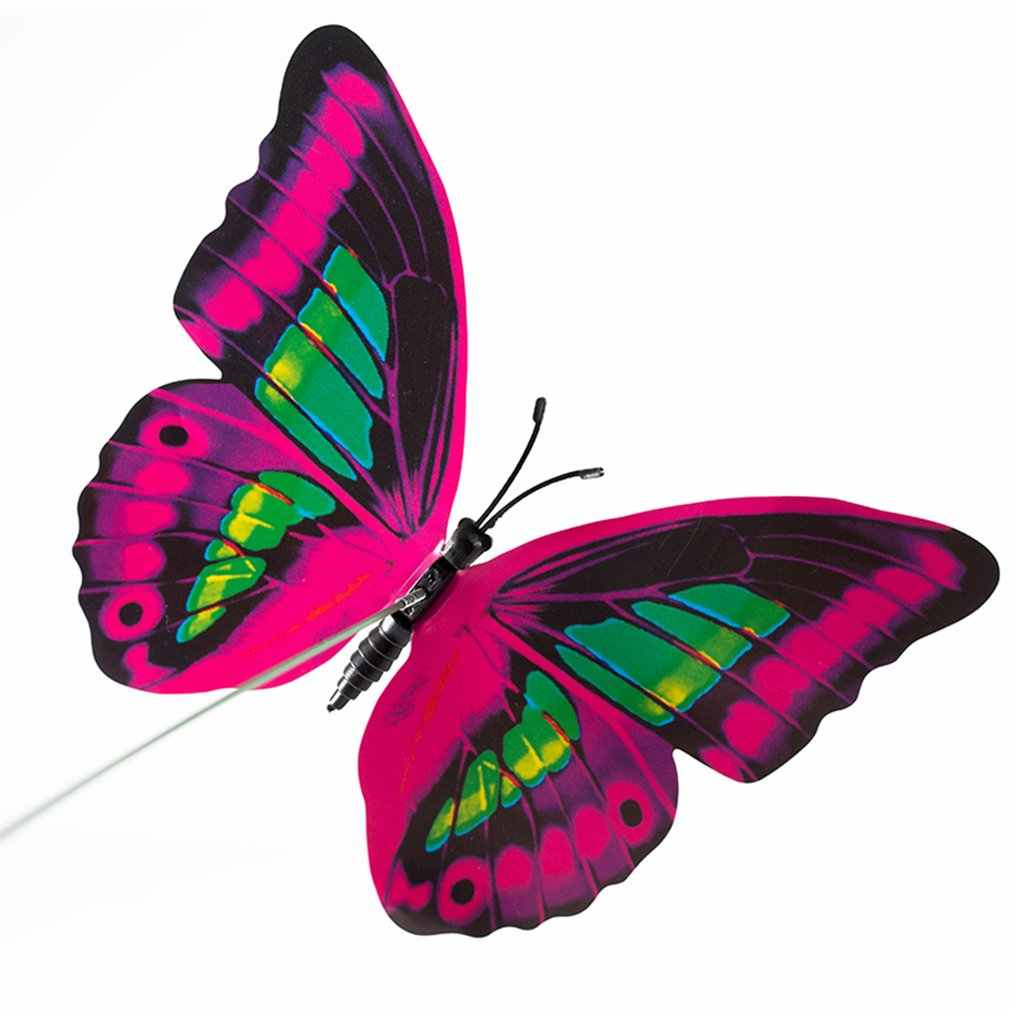 12cm Simulation Lebendige Schmetterling 3D PVC Wand Aufkleber Abnehmbare Mit Magnet Für Home Garten Bunte Dekoration Wand Kunst Aufkleber
