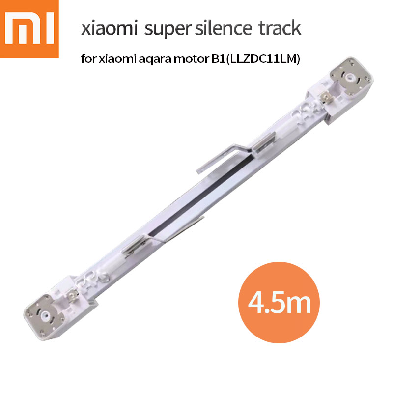 Electric Curtain Track For Xiaomi Aqara B1 Motor Customizable Super Quite For Xiao Mi Smart Home For 4.5m