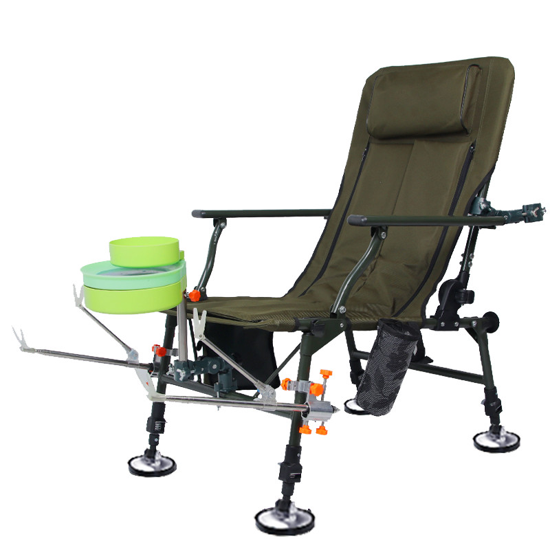 Korean Fishing Chair European Fishing Recliner Reclining Chair Reservoir Fishing Chair Multi-purpose Fishing Chair