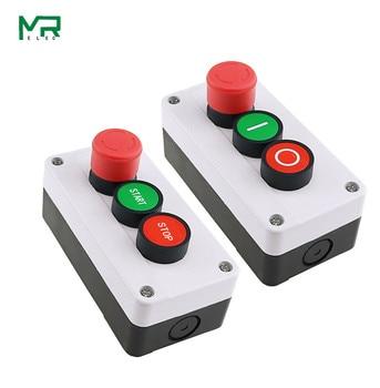 NC Emergency Stop NO Red Green Push Button Switch Station 600V 10A [vk] rafi rafix 22fs 1 30 273 501 0300 original emergency stop push button for heidelberg printing machine