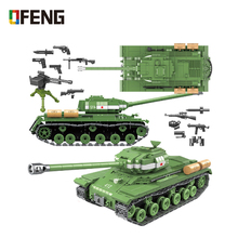 Military IS-2M Heavy Tank Soldier Weapon Building Blocks Compatible WW2 Tank Bricks Army Toys for Boys Children Christmas Gifts цена 2017