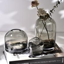 Vase-Decoration Glass-Vase Flower Living-Room Dining-Table Creative Simple Life-Art