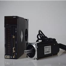 AC Servoมอเตอร์ไดรฟ์ชุด 750W NEMA32 80 มม.220V 2.4Nm 3000r/Min 0.75KW Modbus RS485 เปลี่ยนyaskawa Panasonic Fuji DeltaสำหรับCNC