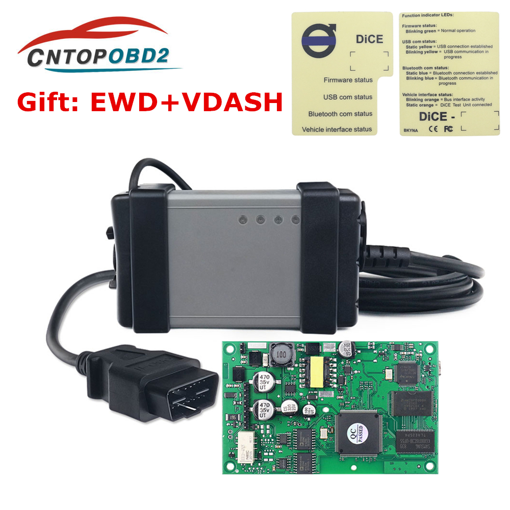 Newest VIDA DICE 2014D Fit for VOLVO Full Chip Scanner OBD2 Diagnostic Tool
