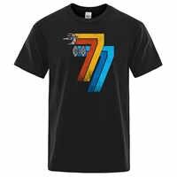 Star Wars T-shirt Harajuku Tops Fashion Classic Unique Retro brand Tshirt Vintage May 25th 1977 T shirts men Streetwear clothing
