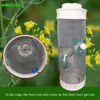 Wasp Catching Cage Large Space To Catch Live Bee Wire Cage Outdoor Bee Catcher Garden Supplies Beekeeping Tools