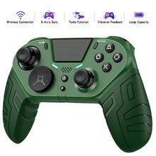 Mando de juego inalámbrico para PS4 Elite/Slim/Pro, mando Dualshock 4 con botón trasero programable, compatible con Turbo