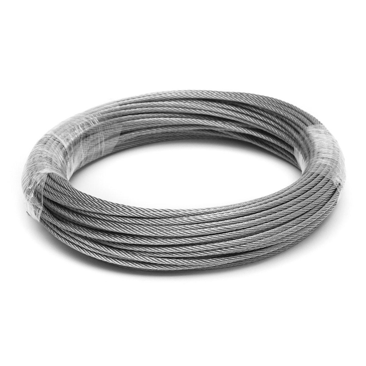 1.5mm Stainless Steel Wire Rope Fishing Lifting Cable Tensile Diameter 1.5mm Structure Cable 1M/ 5M/ 10M/15M/ 20M/25M/ 50M/ 100M