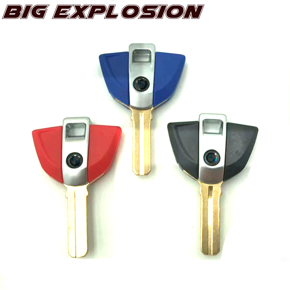 Motorcycle Accessories Motor Parts Embryo Blank Keys Moto Bike For BMW C600 Sport C650GT G310R C1-200 C1 F650 F650GS F800GS