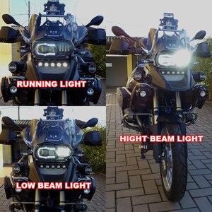 Image 5 - Bmw R1200GS R 1200 GS ADV R1200GS LC 2004 2012 フィットオイルクーラーモーターバイク 2018 LED ヘッドライト