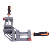 High quality Right Angle Clamp Woodworking Tools Jigs Double Handle 90 Degree Right Angle Clips Quick Corner Clamps