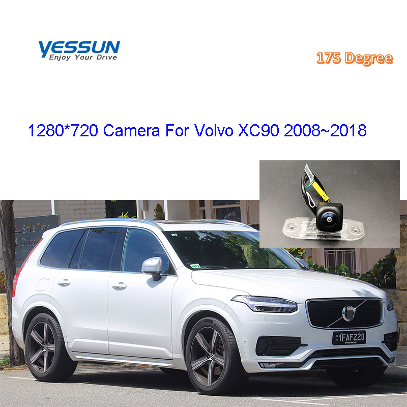 Rear View Camera For <font><b>Volvo</b></font> XC90 <font><b>XC</b></font> <font><b>90</b></font> 2/4WD 2008 2009~2018 CCD Night Vision Reverse Camera license plate camera backup camera image