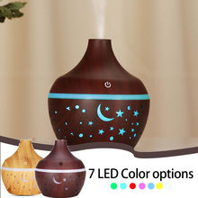 300ML Luft Befeuchter Led Bunte Ultraschall Aroma Luftbefeuchter Ätherisches Öl Diffusor Aroma Aromatherapie-luftbefeuchter Dropshipping