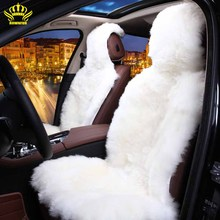 Car-Seat-Covers Sheepskin ROWNFUR Australian Automobiles for 1 D025-B Universal-Size