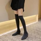 Sock Long Boots Autu...