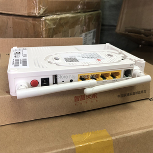 Image 4 - 2019 New GPON ONU ZTE F677 Fiber Optic Router 3FE+1GE+1Tel+USB+Wifi 100% New same function as ZTE F663N