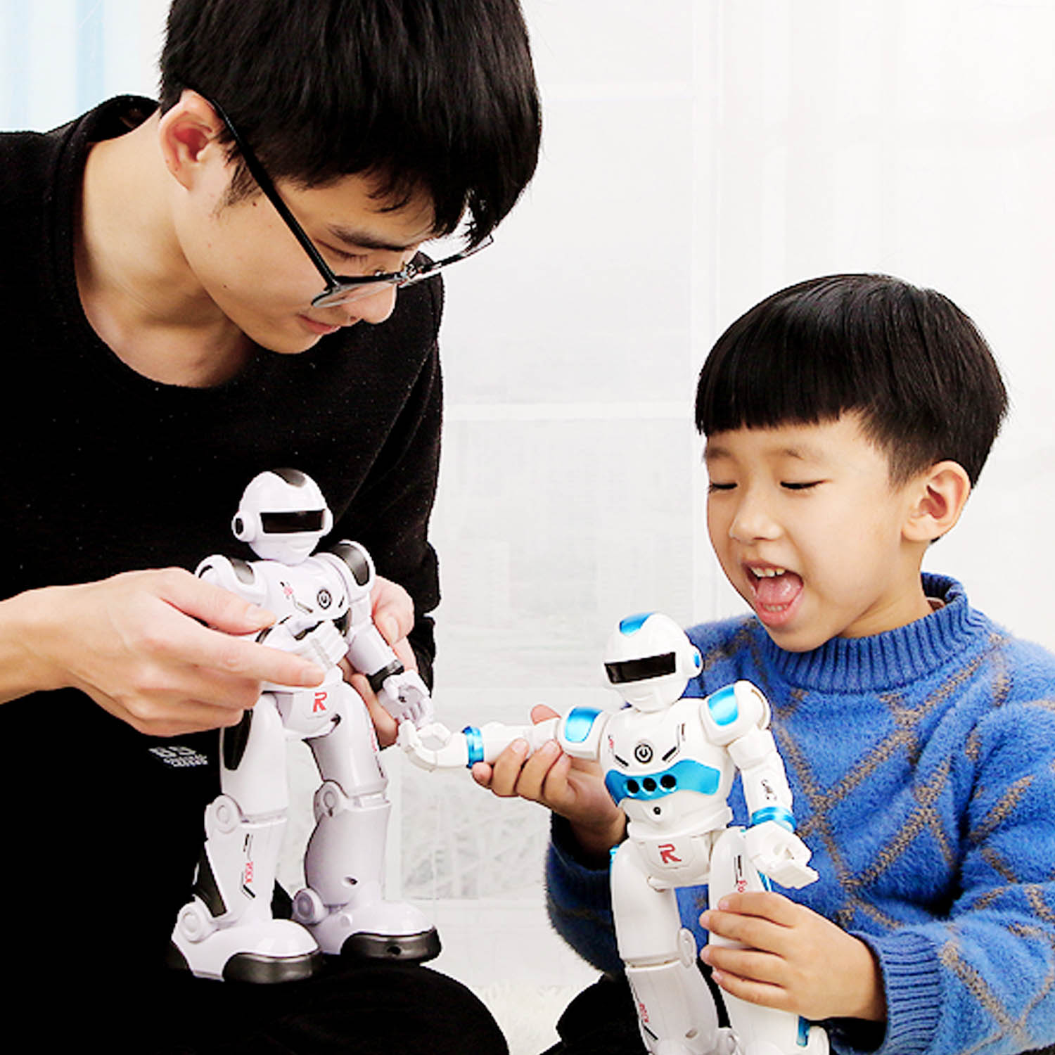 Intelligent Remote RC Control Robot Music Dancing Program Interactive Education Toy For Kids Children Birthday Christmas Gifts