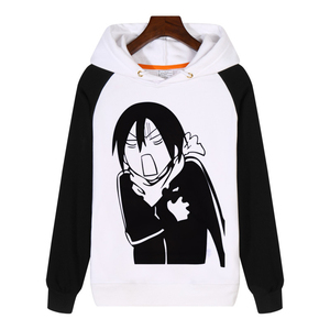 Image 3 - Unisex Men Women Anime Noragami YATO Cotton Hoodie Coat Sweatshirts Cosplay Costumes