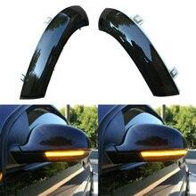 2 X Dynamic LED Turn Signal Light Mirror Indicator Lamp For Golf 5 MK5 Passat B6