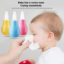 Anti-backflow Nasal Suction Safe Hygienic Nose Aspirators Baby Nose Cleaner Manual Silicone Nasal Aspirators