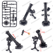 купить Legoinglys Weapons Military M252 Formula Heavy Machine Gun Building Block Figures Army Assemble WW2 Moc Child Christmas Gift Toy дешево