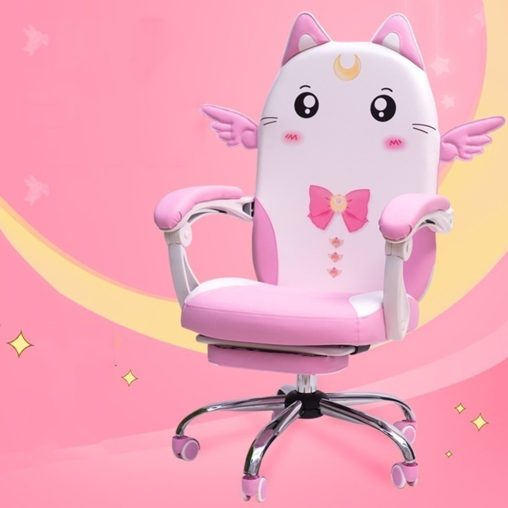 Pink Colour Lovely Main Sowing Household Dormitory Modern Concise Student Direct Seeding Game Gaming Chair Office Furniture