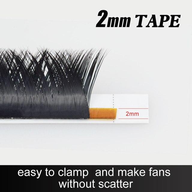 NAGARAKU Makeup V Shape Auto-Fans Eyelash Extension Volume Lashes  mega volume Cílios 0.05mm Easy-Fans Premium Natural Eyelashes 2