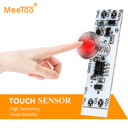 DC12V 24V Capacitive Touch Sensor Switch Coil Spring LED Dimmer On Off Light Switch Module 36W 3A for Smart Home LED Light Strip