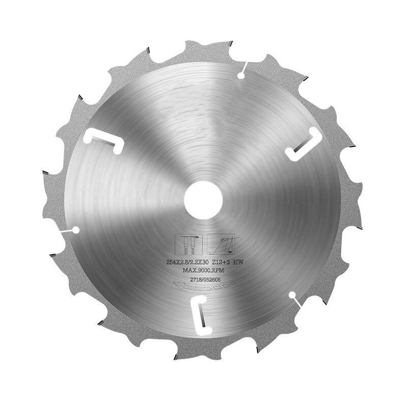 PCD DIAMOND SAW BLADES For Cutting FIBER CEMENT BOARD