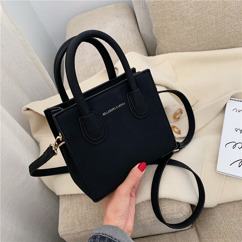 New Scrub Leather Mini Crossbody Bags For Women 2020 Simple Style Shoulder Messenger Bag Lady Travel Handbags Mini Totes