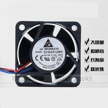 Для Дельты EFB0412HHD -на r00 4020 4 см 12 в 0.15 на Huawei H3C 3600 5600 сервер вентиляторы осевые