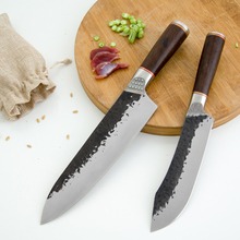 XYj noże kuchenne 8 cal noże szefa kuchni 6 5 #8221 trybowania 7 #8221 tasak nóż rzeźnicki młot ze stali nierdzewnej serbski nóż do cięcia narzędzia tanie tanio STAINLESS STEEL Ekologiczne Ce ue Lfgb Chef noże 6 5 7 8 inch Boning Knife Chef Knife Butcher Knife 5cr15 Stainless Steel