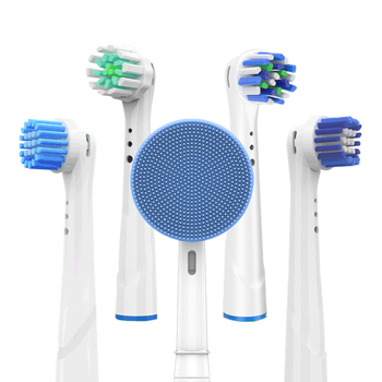 Replacement Toothbrush Heads for Oral B Electric Teeth Brush Head Silicone Facial Cleansing Fits b Cleanser - discount item  32% OFF Personal Care Appliances