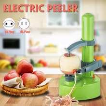 110 В/220 В овощечистка машина для очистки фруктов и картофеля многофункциональная Автоматическая электрическая вращающаяся машина для очистки овощей