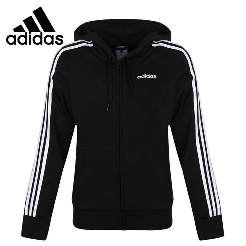 Nueva chaqueta deportiva con capucha para mujer Adidas W E 3S FZ HD