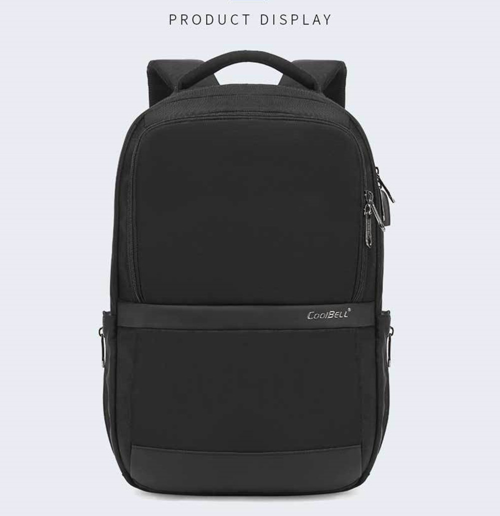 negócios mochila anti-roubo mochila impermeável mochila de viagem